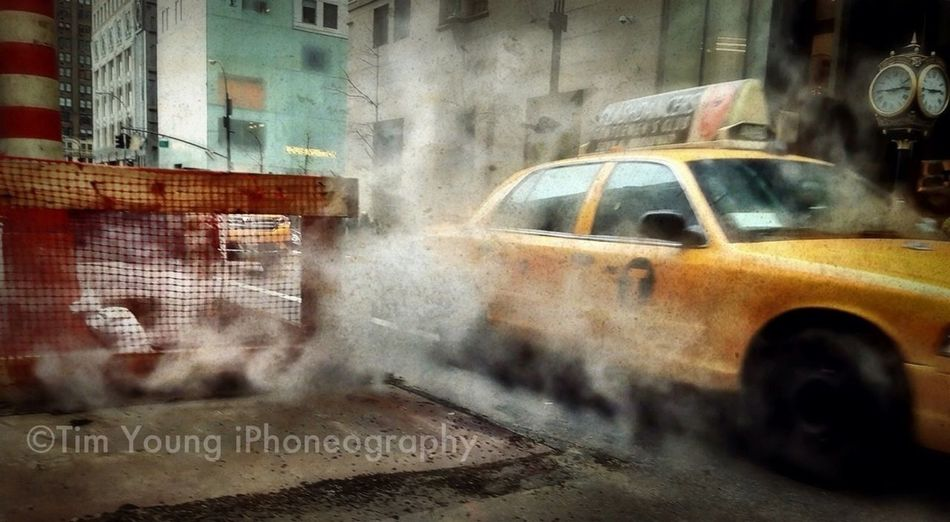 Smoke | Taxi | NYC