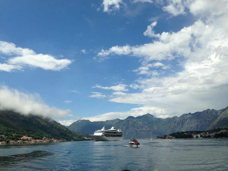 Cloud - Sky Panoramic Photography Sea Travel Kotor Montenegro Travel Photography Cruise Ship Photos Water Cruise Ship Sea Travel