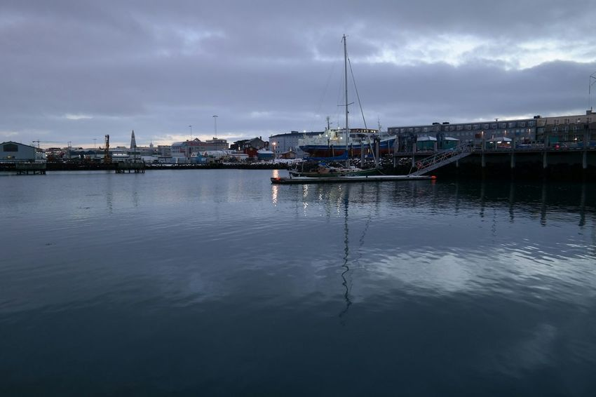 Water Reflections Reflection_collection Reykjavik Enjoying Life Sea And Sky Sea Reflections From My Point Of View Taking Photo Nature