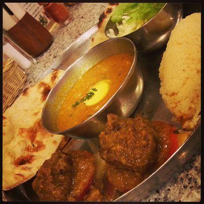 初めての店でインドカレー! カレー部 Dinner Curry