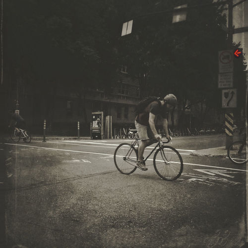 Cycling Montreal Street IPhoneography Mobileart NEM Submissions