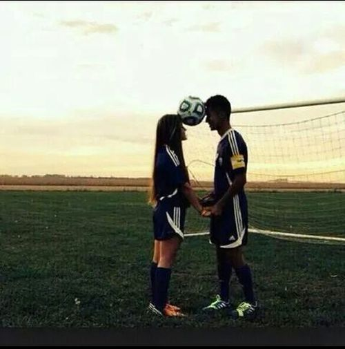 With my girlfriend ??????⚽?