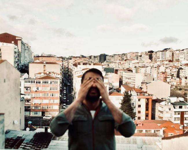 My balcony view in istanbul