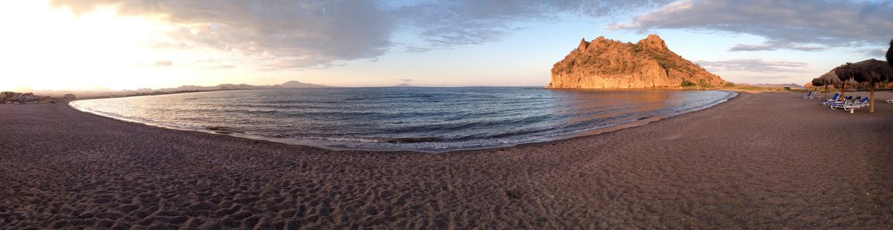 Loreto Bay, Baja California Sur, Mexico Loreto Bay Loreto Bay Beach Panorama Mexico Baja California Sur Sunset Beach Resort