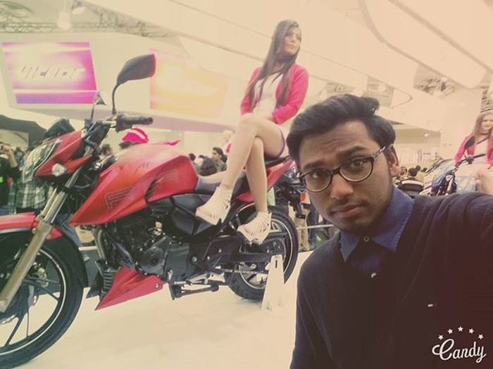 It was the best Mah love apache Autoexpo2016 Apach200 Aetms2016 Beast Aetms16 Mahloveapache Tvsapachelover Tvsracing