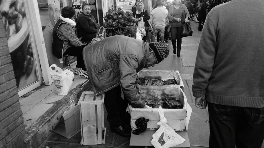 Comercio. WorkingRancagua, Chile. Business Finance And Industry Occupation Adult One Man Only Only Men Adults Only Manual Worker People One Person Men Work Tool Business Repairing Craftsperson Full Length Protective Workwear Day Outdoors Young Adult