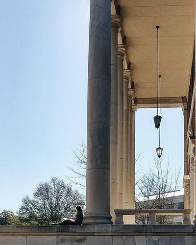 👤 | 🏫 UniversityOfAlabama Uni College VSCO Vscocam Tinypeopleinbigplaces SplitScreen South USA Southern Neoclassical Ttown Tuscaloosa This Week On Eyeem