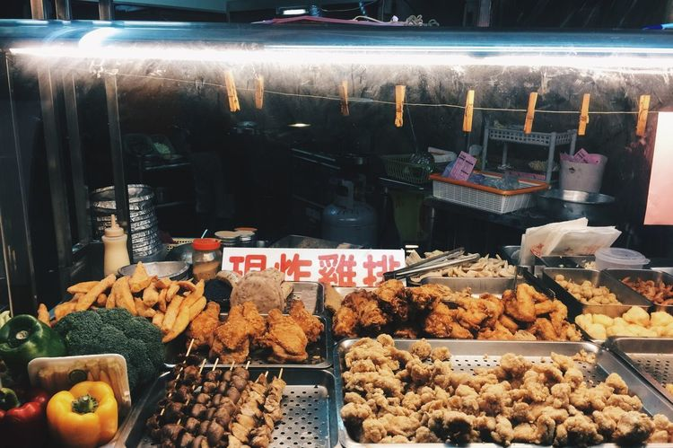 Fried Chicken Local Taiwan Yum Chickenfillet Choice Food Local Food Night Nightmarket Ready-to-eat Retail  Small Business Taipei Yummy