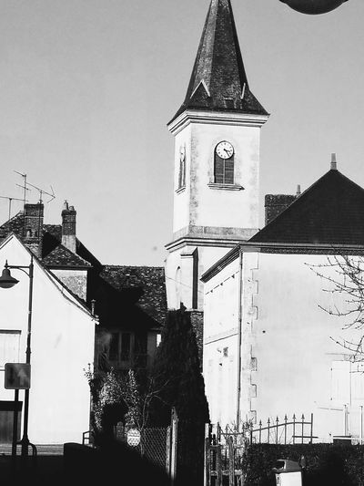 Church Village Village View Sunlight Sunlight, Shades And Shadows Blackandwhite Photography Architecture Building Exterior Built Structure