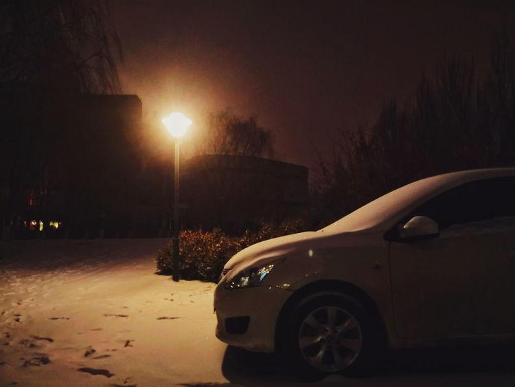 Car Night Transportation No People Outdoors Tree EyeEmNewHere