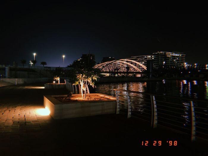 A walk Night