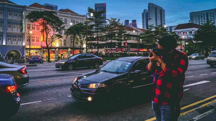 HUAWEI Photo Award: After Dark City Cityscape Illuminated City Street City Life Architecture Building Exterior #urbanana: The Urban Playground Be Brave EyeEmNewHere A New Beginning Capture Tomorrow My Best Photo