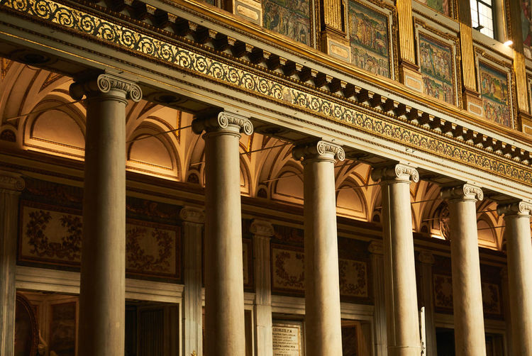 Architectural Column Architecture Built Structure History The Past Low Angle View Building Exterior No People Travel Destinations Craft City Carving - Craft Product Government Text Day Ornate Classical Style Building Communication Courthouse Colonnade