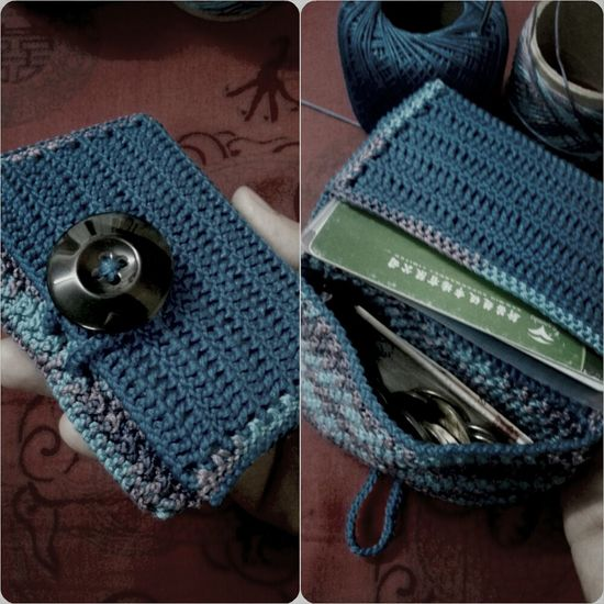 Crochet Coinpurse with Cardholder My Wallet wallet
