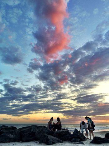 Sunset At Long Beach, NY Visualmagic EyeEm Best Shots Beautiful Sky