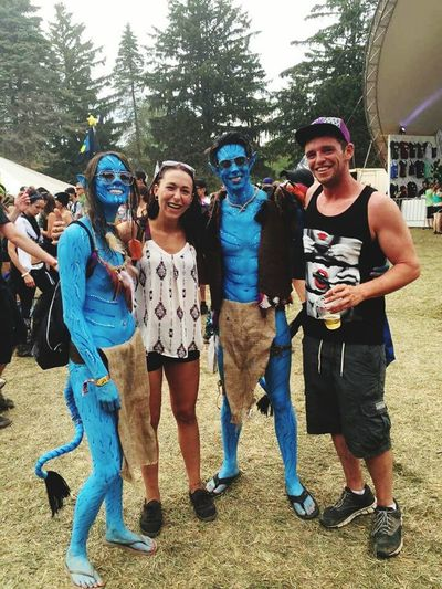 Ran into some Avatars at Electric Forest 2015