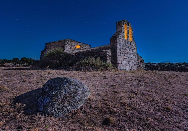 The hermitage Hermitage Religion Nightphotography Night Architecture History Built Structure Building Exterior Night Old Ruin No People Outdoors Clear Sky