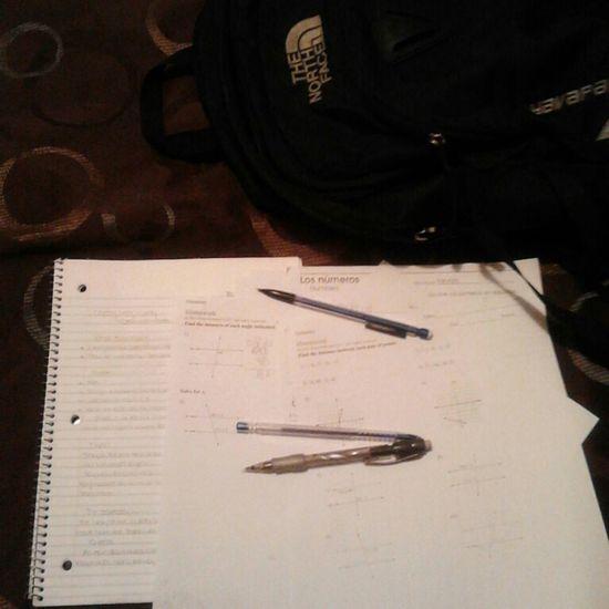 Homework is so stressful. . . ╮(╯_╰)╭