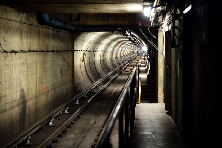 Subway Metro Underground Tunnel Railway Washington, D. C. DC Wmata Washington