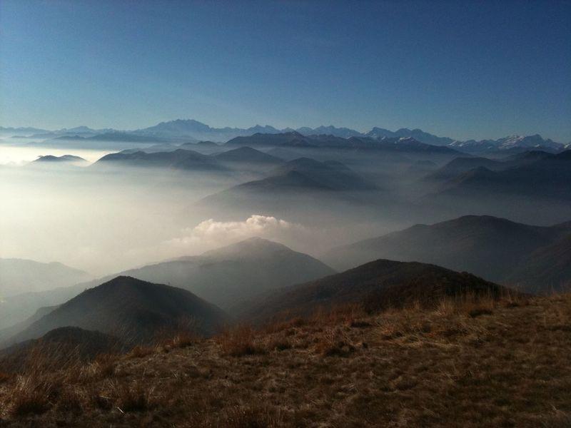 Alps Switzerland Suisse  Ticino Monte Lema Monte Rosa