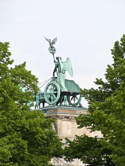 Architecture Berliner Ansichten Brandenburg Gate Brandenburger Tor Brandenburgertor Building Exterior Pferderennen Quadriga Siegesgöttin Statue Streitwagen