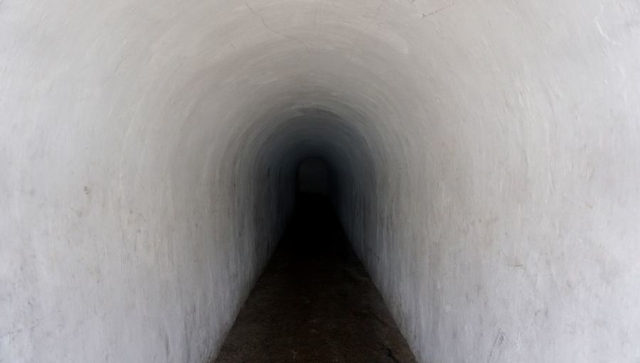 View of tunnel