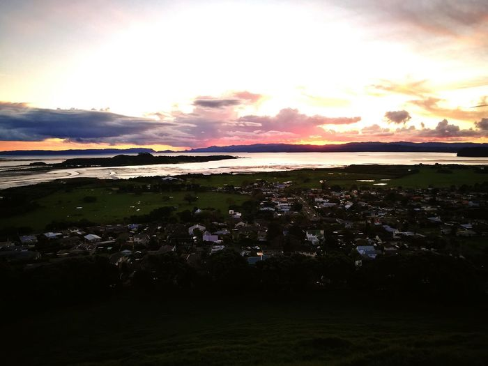 Dusk over the Manukau Harbour First Eyeem Photo