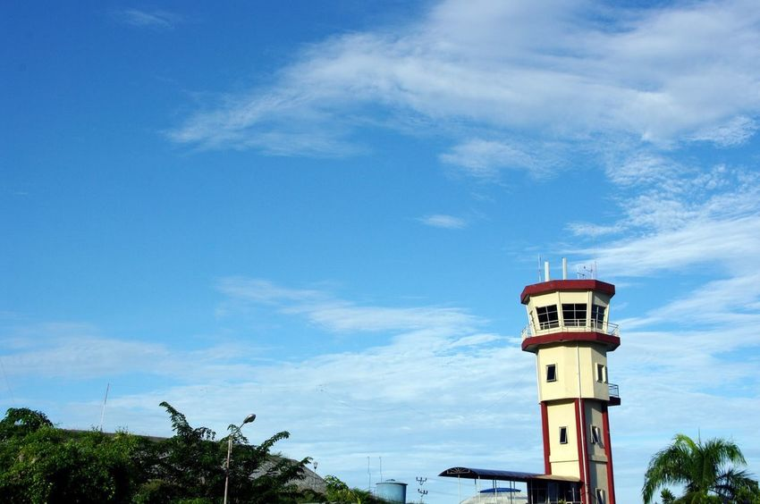 Togian Islands, Central Sulawesi, 2010 Luwuk Airport Atc Tower The Journey Begins INDONESIA Indonesia_photography Sulawesi Blue Sky