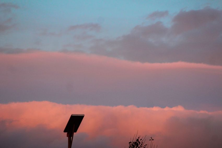 Beauty In Nature Cloud - Sky Day Low Angle View Nature No People Outdoors Scenics Silhouette Sky Sunset Tranquility