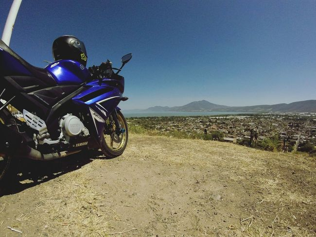 viaja con el alma Biker Motorcycle Sky