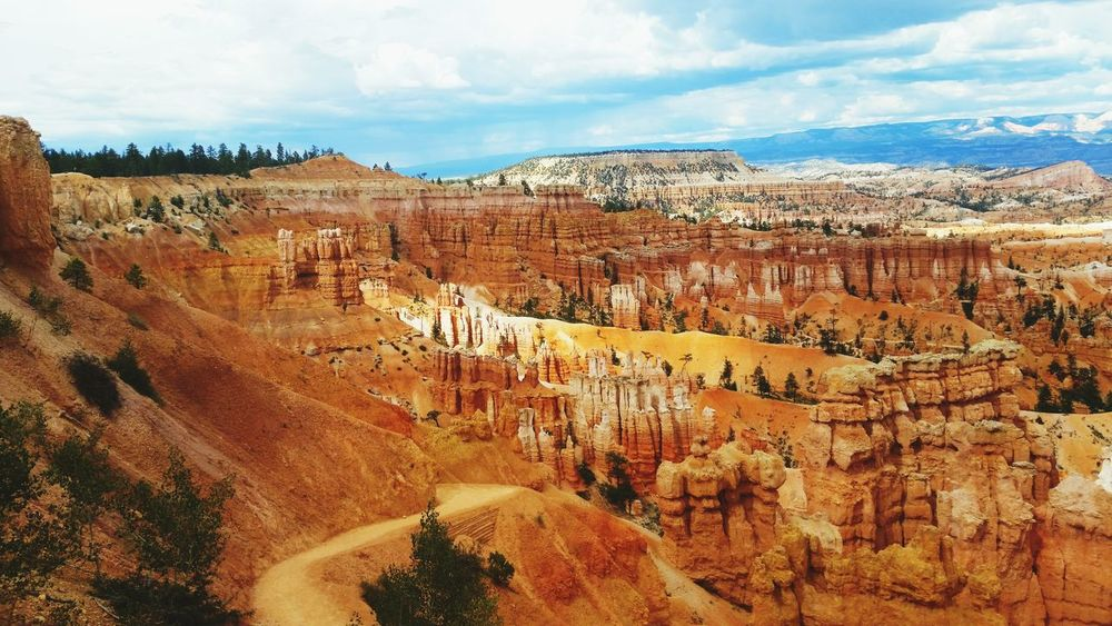 Bryce Canyon National Park Sandstone Canyon Sandstone Cliffs Hiking❤ Natural Beauty Nationalpark Utah Landscapes With WhiteWall Great Outdoors With Adobe