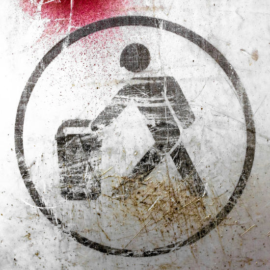 Throwing trash Aging Circle Damaged Deterioration Dirty Discolored Faded Garbage Grunge_effect GrungeStyle Icon Old-fashioned Process Recycling Red Scratched Scratching Sign Symbol Textured  Throwing  Trash Trashcan Waste Wastebasket