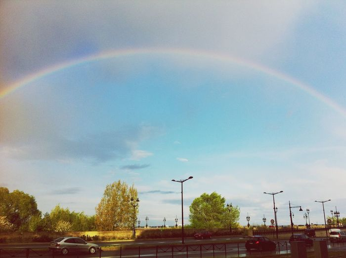 Rainbow Cloud - Sky Day City Bordeaux First Eyeem Photo