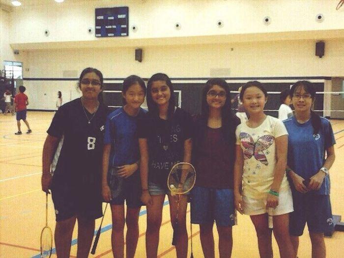 Won The Badminton Tournament