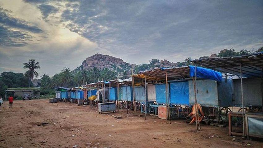Humpi Morning Karnataka Heritage Spiritual Healing Wanderlust Traveldairy Trecking Instaafternoon Instalike Instadaily Instagood Instatravel Creativepeople Everydayindia