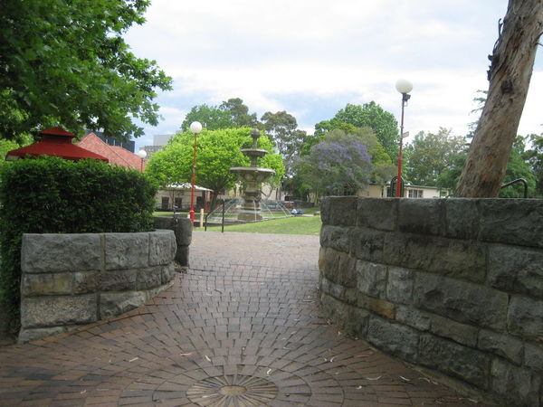 beautiful walkway Architecture Built Structure Cloud - Sky Day Footpath Narrow Outdoors The Way Forward Tranquility Walkway