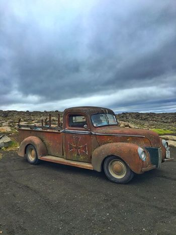 RatRod Classic Car Rusty Iceland216
