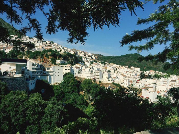 Ojen Andalousia Ojen Andalucía Andalusien Weiße Dörfer Vacations Holiday Urlaub SPAIN