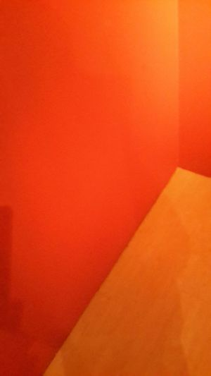 i just took a picture of the corner of a room i was in.. Shades Red Abstract.