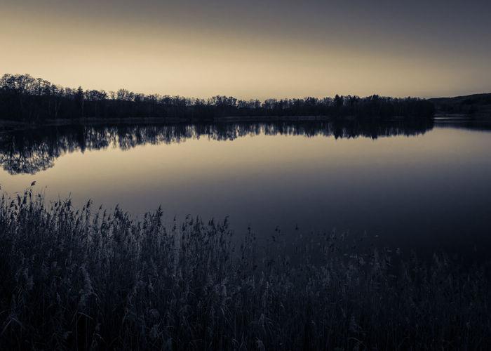 Blackandwhite Lake View Light Monochrome Outdoors Reflection Sea Silouhette Sun Sunrise... Olympus OM-D E-M5 Mk.II