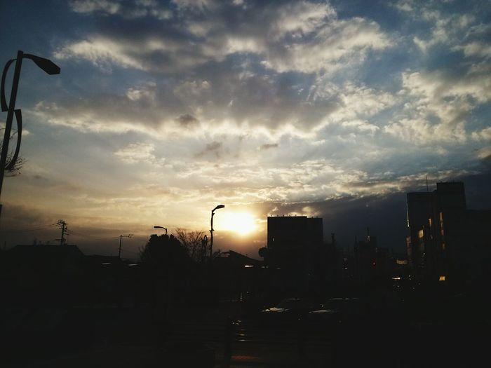 日の出 Taking Photos