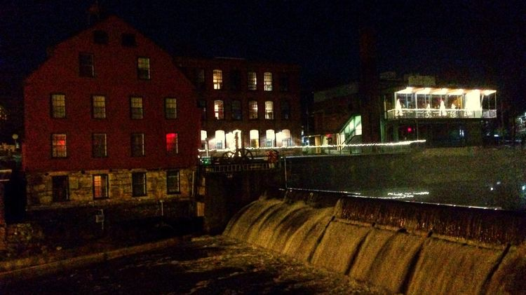 Christmas Eve at the Alternatives Whitin Mill Iphone5s IPhoneography IPhone Photography Relight App Lowlightphotography Christmas Lights Eye Em Edit Mills Urban Lifestyle