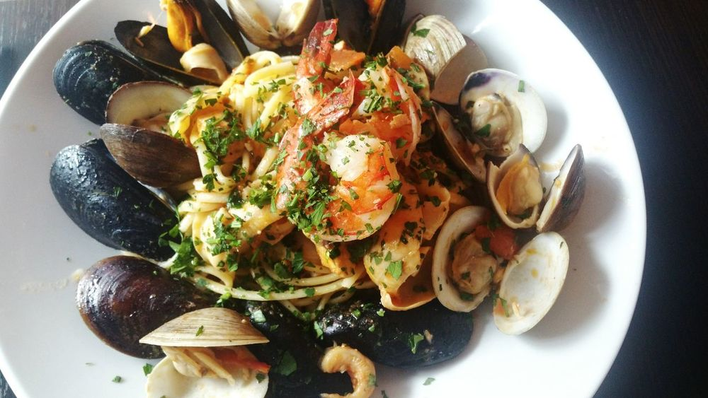 Seafood Pasta Italian Pasta Lunch Brunch Meal Delicious Fresh Ingredients Healthy Eating Meal Pasta Spagetti Italian Food Dish Of The Day Mussels
