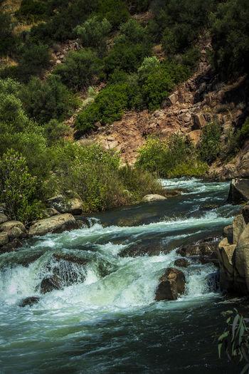 Río Guarrizas Estación De Vadollano Flowing Water Jaen Province Jaen Provincia Linares Nature Puente De Hierro Rock - Object Rock Formation Río Guarrizas Water