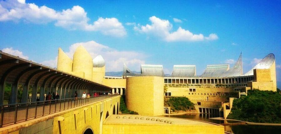 Virasat-e-khalsa .. A building with the stories behind the origin of Sikh's and a great architect.. The Architect - 2016 EyeEm Awards Getty EyeEm Gallery Punjab ANANDPURSAHIB Virasat-e-khalsa Picoftheday Pastel Power Eyeemphotography India Photography