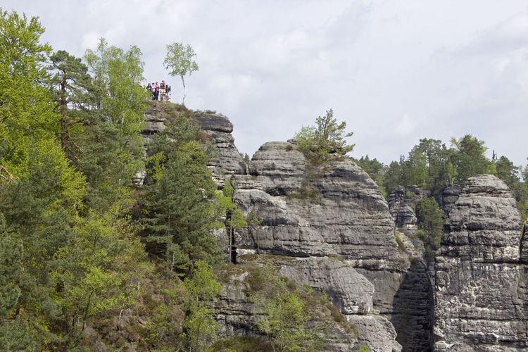 Bastei rock formations, dresden