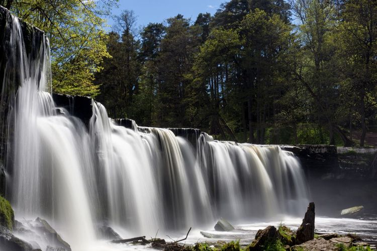 Keila Waterfall Waterfall Long Exposure Beauty In Nature Nature Power In Nature Day Water Motion Outdoors Canon