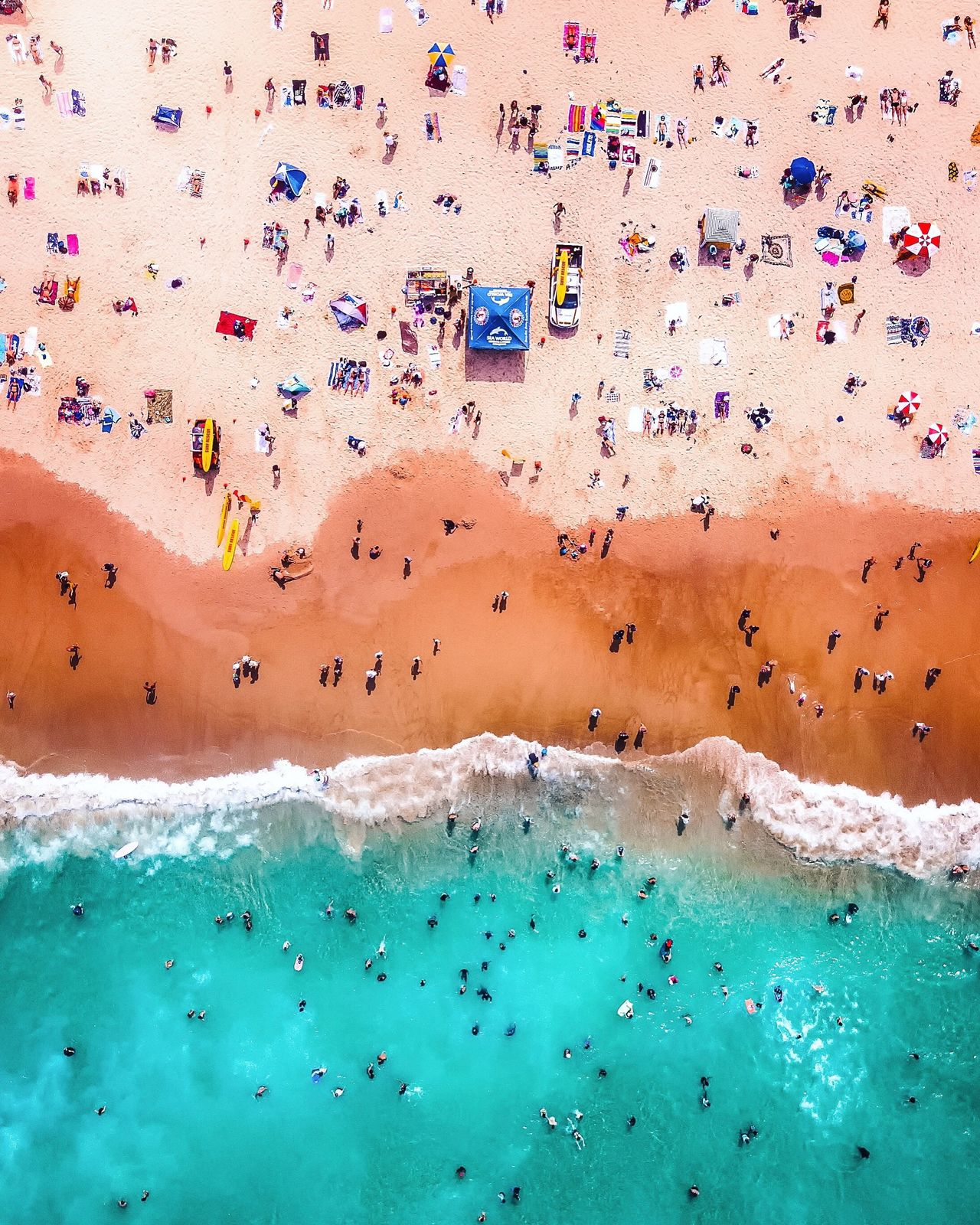Aerial View,  Australia,  Beach,  Beauty In Nature,  Day