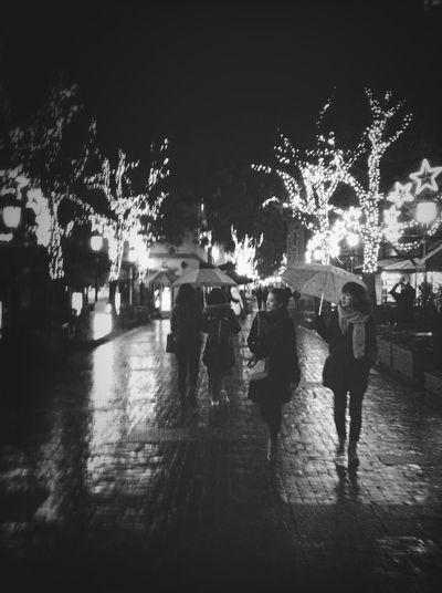 Bonne Nuit Night Black And White