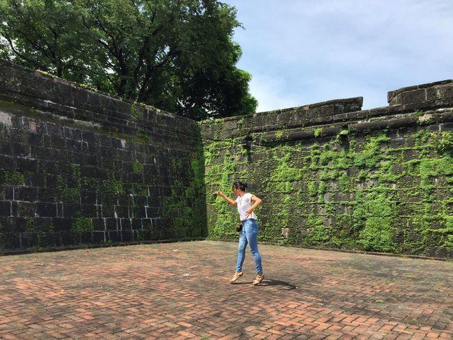 I have a dream . Photography Intramuros,manila Intramuroswalls Itsmorefuninthephilippines Manila Eyeem Philippines Eyeemphoto Me Historical Site History Philippines Outdoors Moments